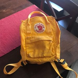 Mustard Yellow Kanken Mini